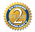 2 Year Extended Manufacturers Limited Warranty