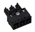 Terminal plugs, blocks, and sockets for OmniSite Remote Monitoring devices.
